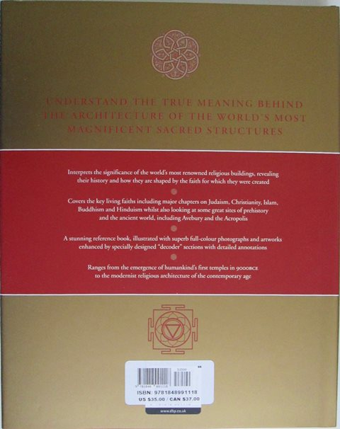 Back cover of The Secret Language of Sacred Spaces by Jon Cannon