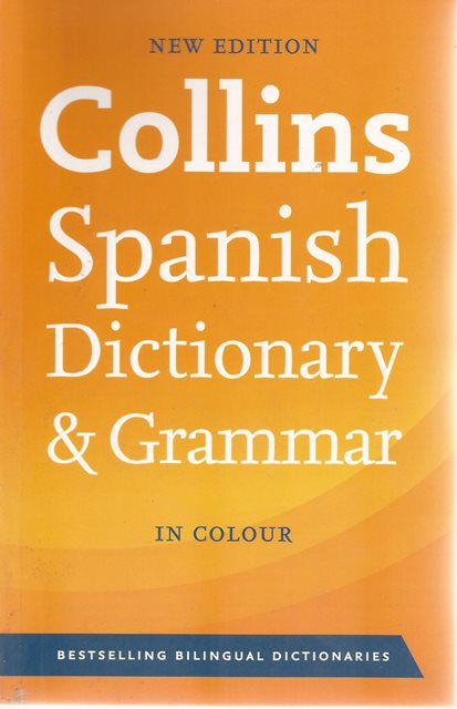 Front cover of Collins Spanish Dictionary & Grammar