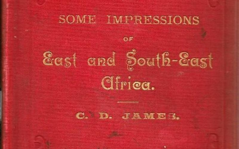 Front cover of Some Impressions of East and South-East Africa by C D James
