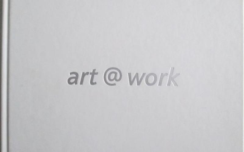 Front cover of Art @ Work published by Sasol