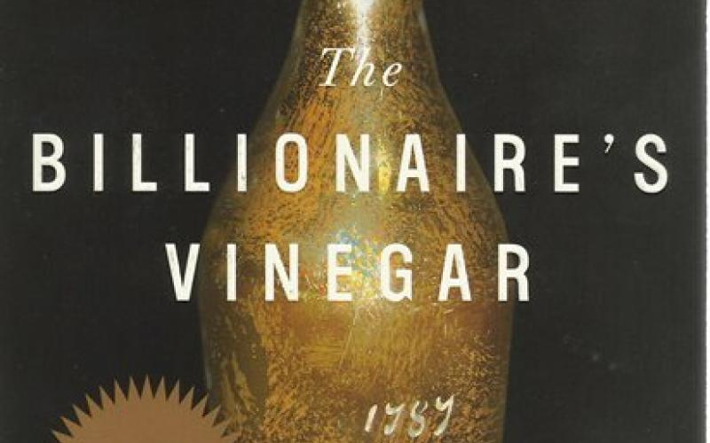Front Cover of The Billionaire's Vinegar by Benjamin Wallace