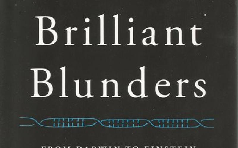 Front cover of Brilliant Blunders by Mario Livio