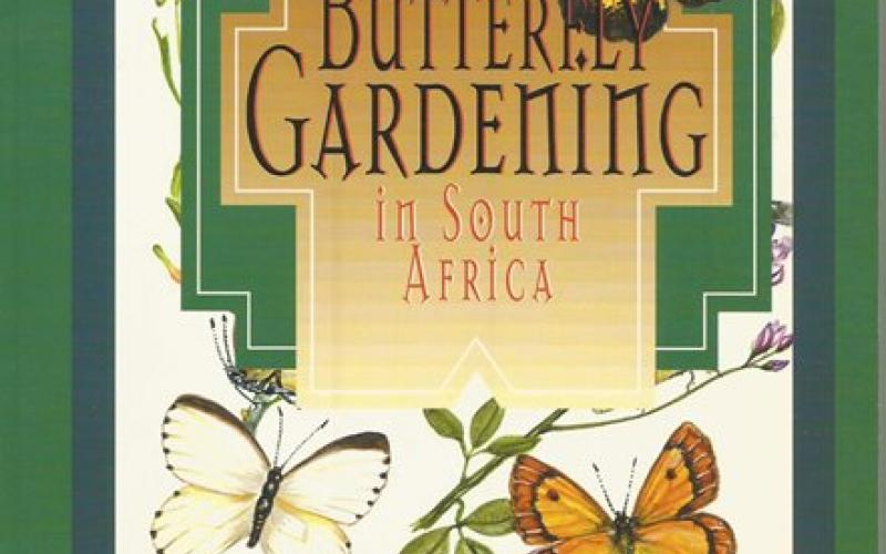 Front Cover of Butterfly Gardening in South Africa by Jill Reid