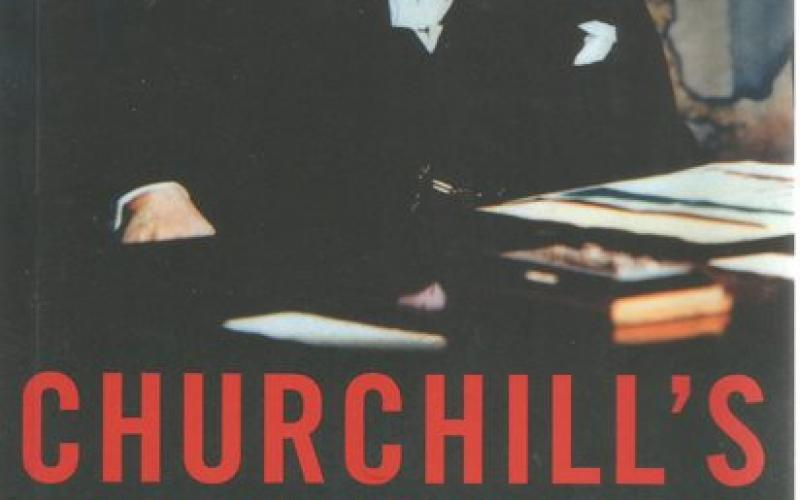 Front cover of Churchill's Bunker by Richard Holmes