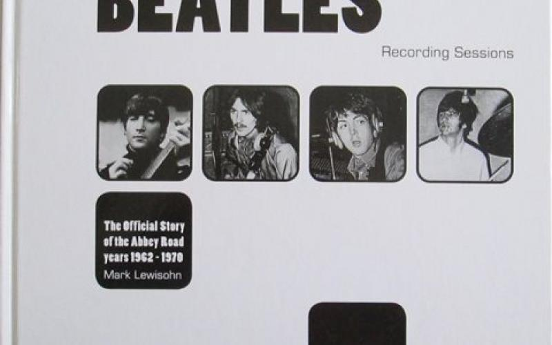 Front cover of The Complete Beatles Recording Sessions by Mark Lewisohn