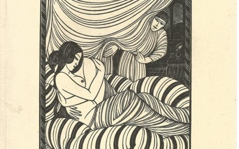 Front Cover of The Engraved Work of Eric Gill by Victoria and Albert Museum
