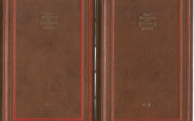 Front Covers of First Footsteps in East Africa or, an Exploration of Harar by Richard F Burton