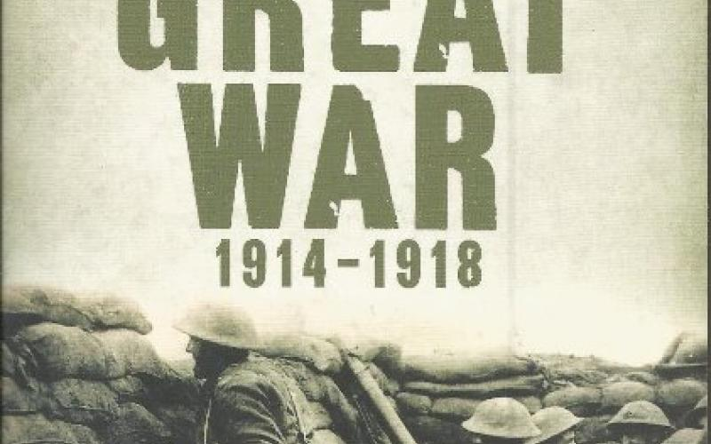 Front cover of The Great War 1914-1918 by Peter Hart