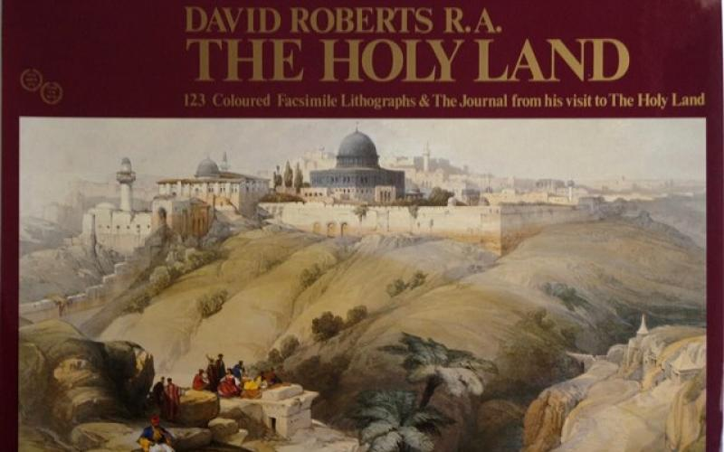 Front Cover of The Holy Land by David Roberts