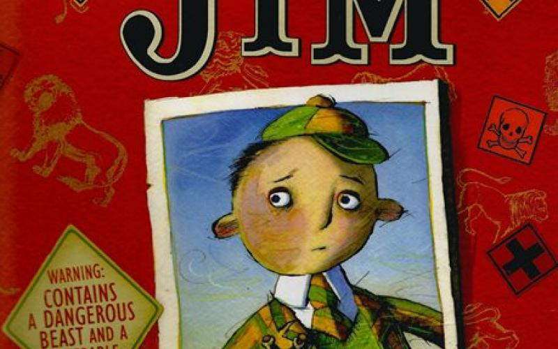 Front cover of Jim by Hilaire Belloc and Mini Grey