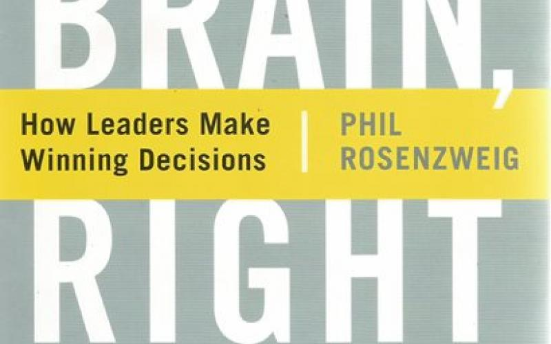 Front cover of Left Brain, Right Stuff by Phil Rosenzweig