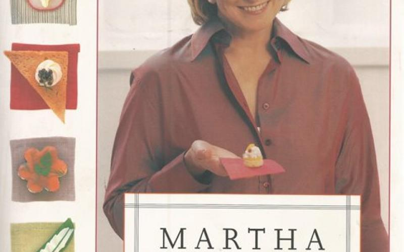 Front Cover of Martha Stewart's Hors d'Oeuvres Handbook by Martha Stewart