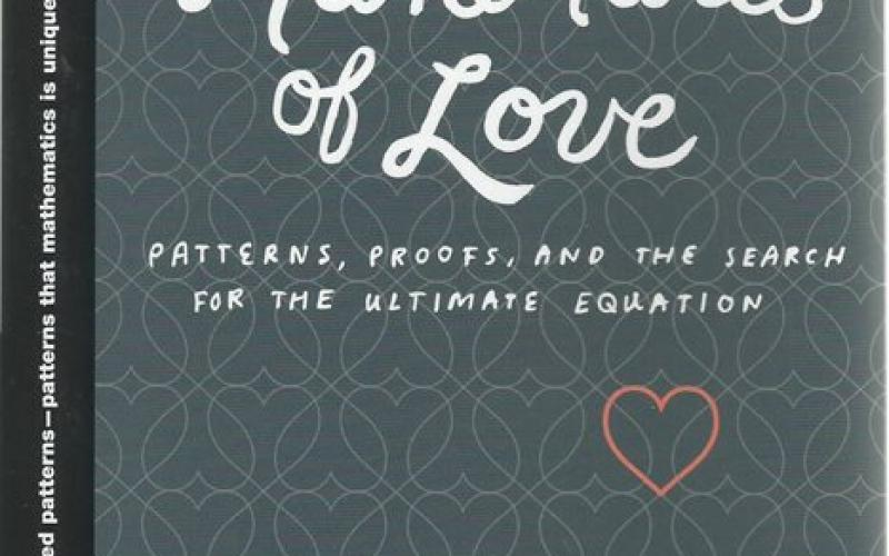 Front cover of The Mathematics of Love by Hannah Fry