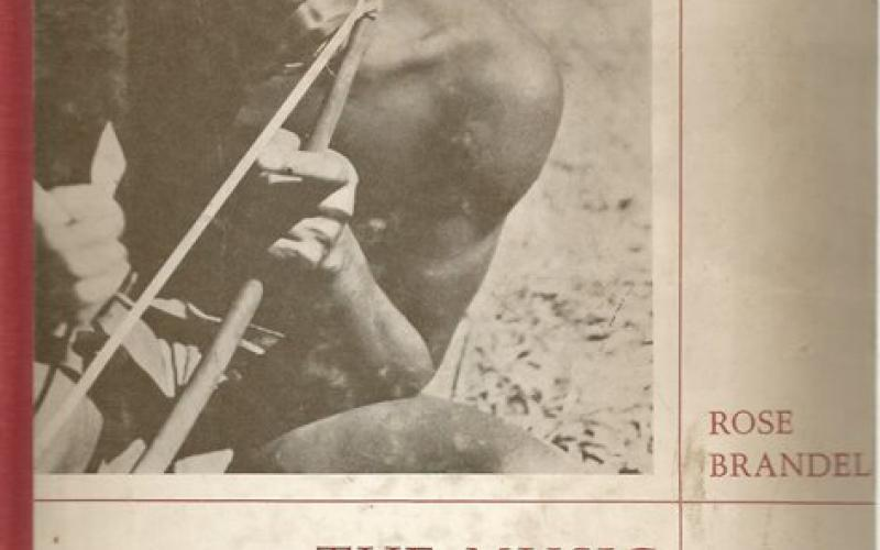 Front Cover of The Music of Central Africa by Rose Brandel