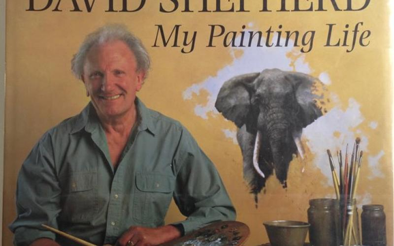 Front Cover of My Painting Life by David Shepherd