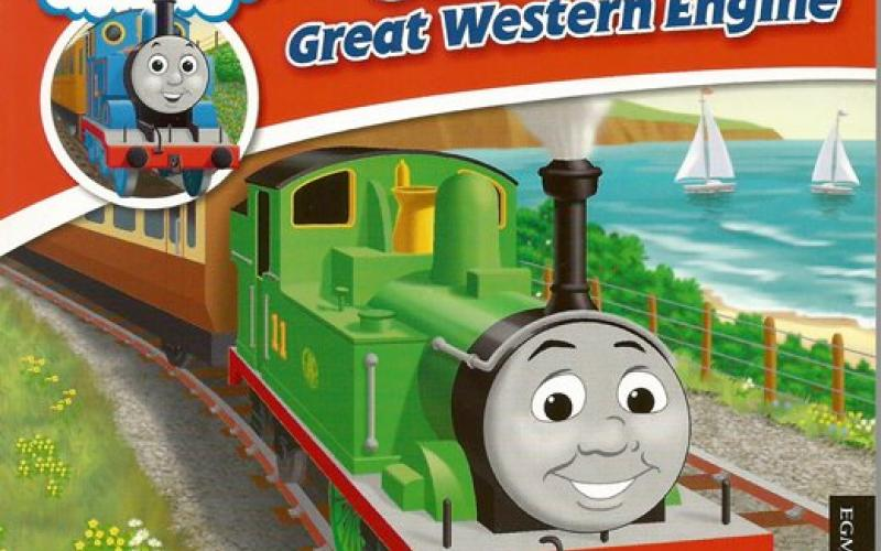 Front cover of Thomas & Friends: Oliver the Great Western Engine by W. Awdry