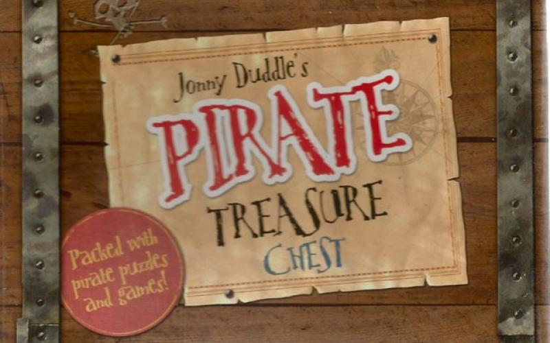 Front cover of Jonny Duddle's Pirate Treasure Chest by Jonny Duddle