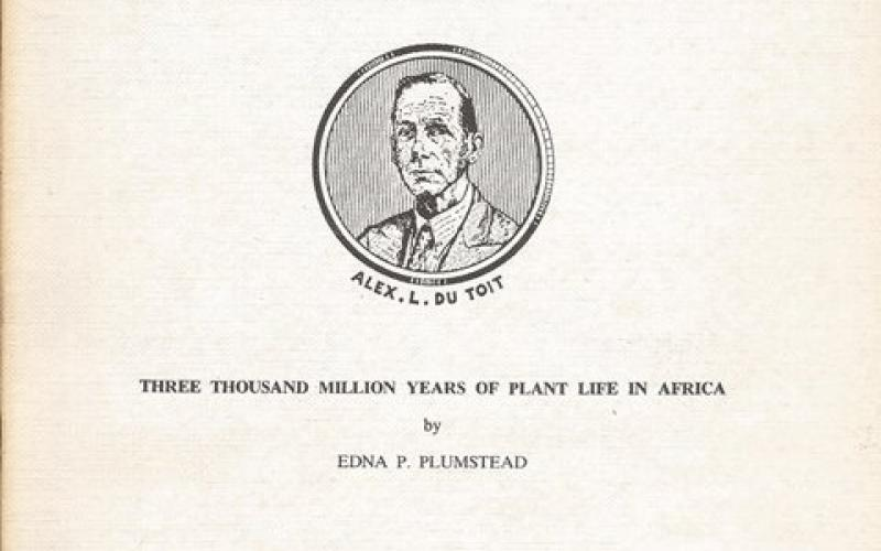 Front cover of Three Thousand Million Years of Plant Life in Africa by Edna P. Plumstead