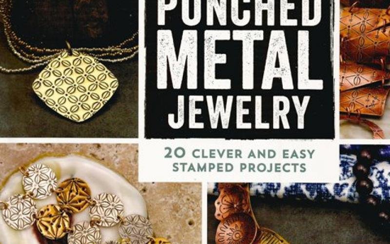 Front cover of New Directions in Punched Metal Jewelry by Aisha Formanski