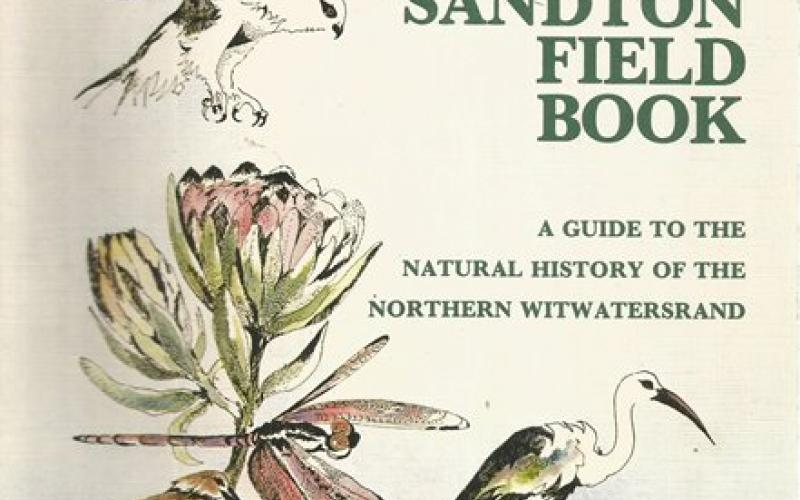 Front Cover of Sandton Field Book edited by Vincent Carruthers