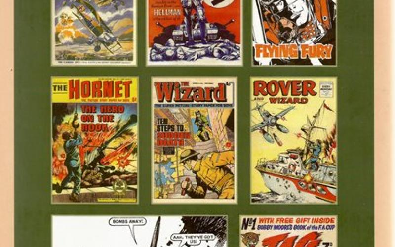 Front cover of When the Comics Went to War by Adam Riches