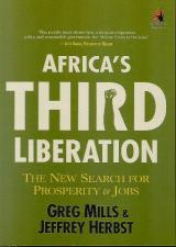 Front cover of Africa's Third Liberation by Greg Mills and Jeffrey Herbst