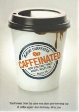 Front cover of Caffeinated by Murray Carpenter