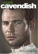 Front cover of At Speed by Mark Cavendish