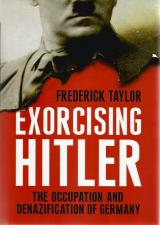 Front cover of Exorcising Hitler by Frederick Taylor