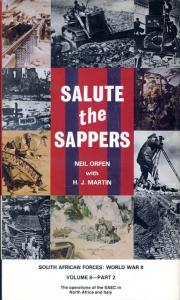 Front cover of Salute the Sappers volume II by Neil Orpen with H.J. Martin