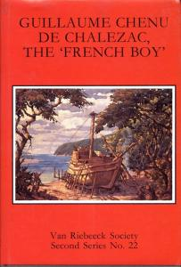 Front cover of Guillaume Chenu de Chalezac, the 'French Boy' by Randolph Vigne