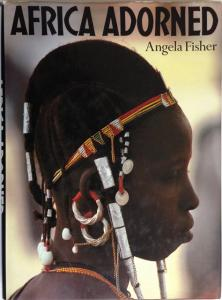 Front Cover of Africa Adorned by Angela Fisher