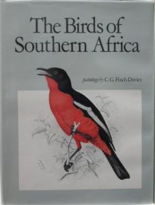 Front cover of The Birds of Southern Africa by CG Finch-Davies and Alan Kemp