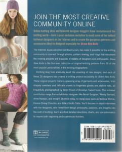 Back cover of Brave New Knits by Julie Turjoman