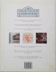 Back cover of Cross Stitch Embroidery by Jan Eaton