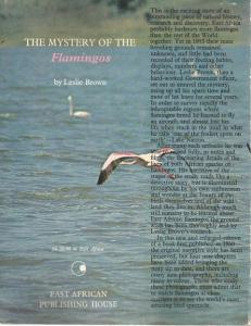 Back Cover of The Mystery of the Flamingos by Leslie Brown