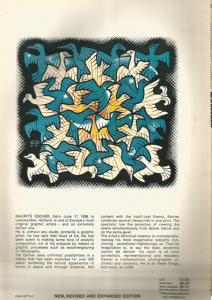 Back Cover of The Graphic Work of M C Escher by M C Escher