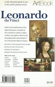 Back Cover of Leonardo da Vinci by Francesca Debolini