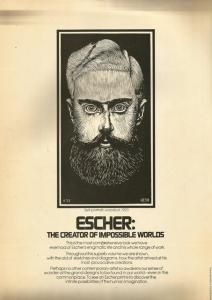 Back Cover of The Magic Mirror of M C Escher by Bruno Ernst
