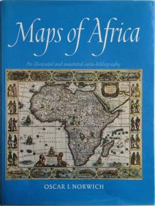 Front Cover of Maps of Africa by Oscar I Norwich