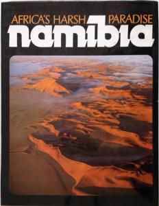 Back Cover of Namibia by Anthony Bannister & Peter Johnson