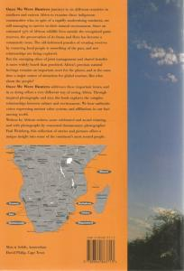 Back cover of Once We Were Hunters by Paul Weinberg