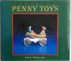 Front Cover of The Book of Penny Toys by David Pressland