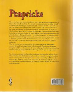 Back Cover of Penpricks by Ken Vernon