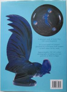 Back cover of the Art of Rene Lalique by Patricia Bayer & Mark Waller