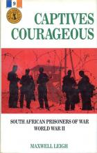Front cover of Captives Courageous by Maxwell Leigh