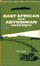 Front cover of East African and Abyssinian Campaigns by Neil Orpen