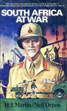 Front cover of South Africa At War by H.J. Martin & Neil Orpen