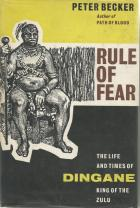 Front cover of Rule of Fear by Peter Becker