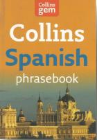 Front cover of Collins Spanish Phrasebook and Dictionary